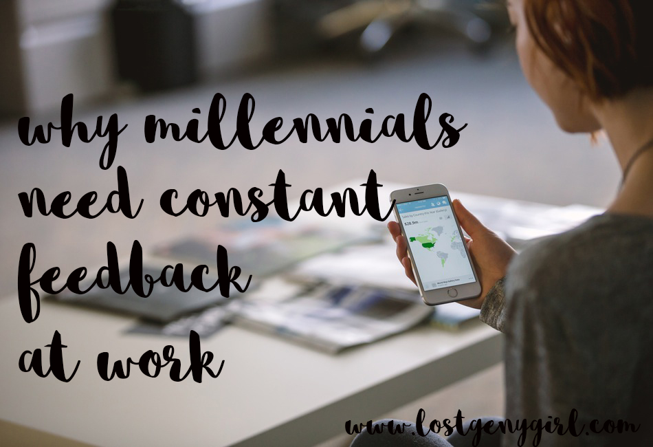 Why Millennials Need Feedback At Work
