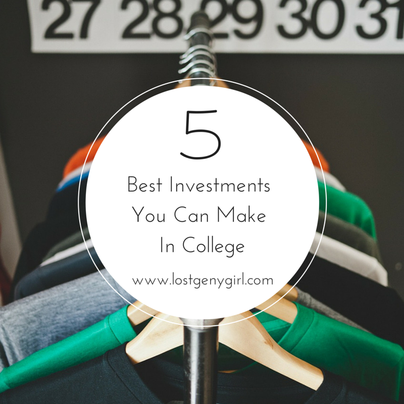 5 Best Investments You Can Make In College