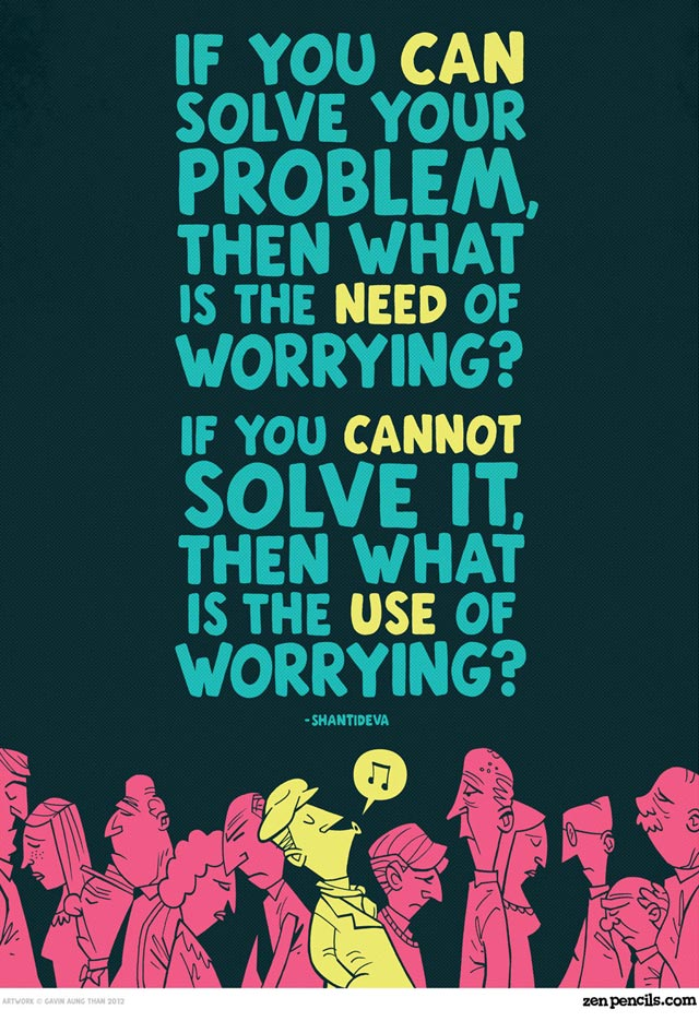 Stop Worrying, It's A Waste