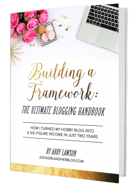 Building A Framework Blogging