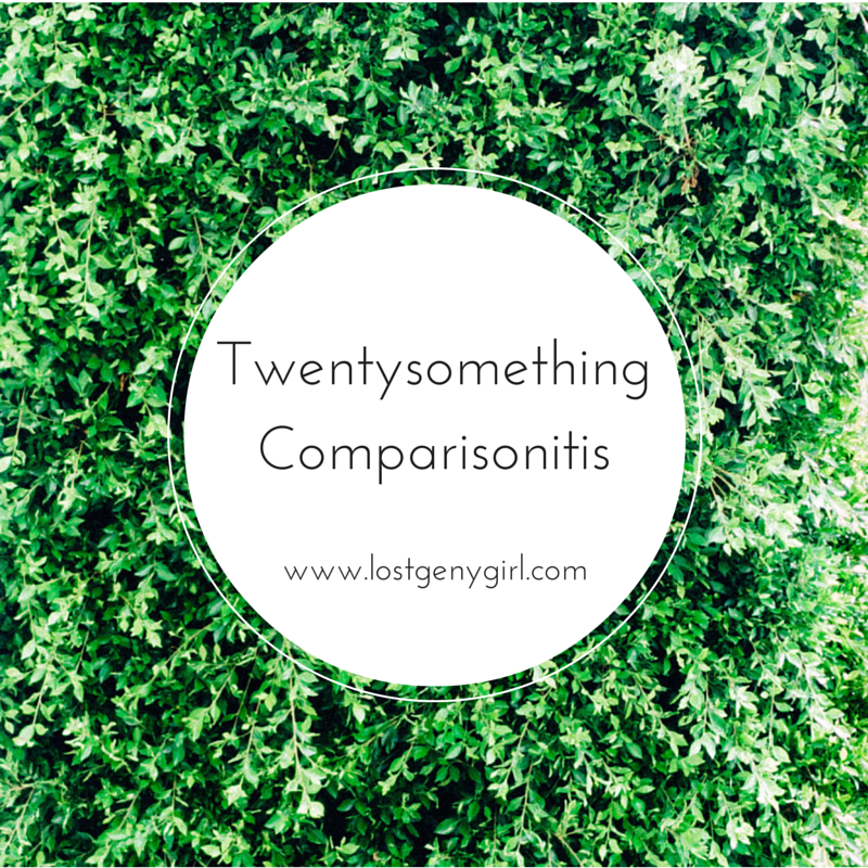Twenysomething Comparisonitis