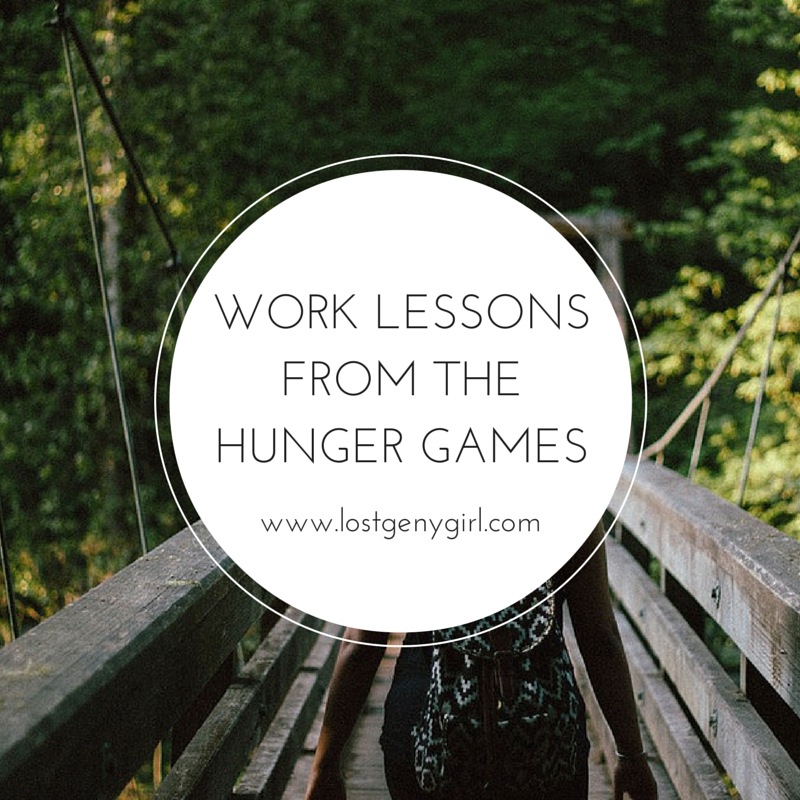 What We Can Learn About Work From The Hunger Games