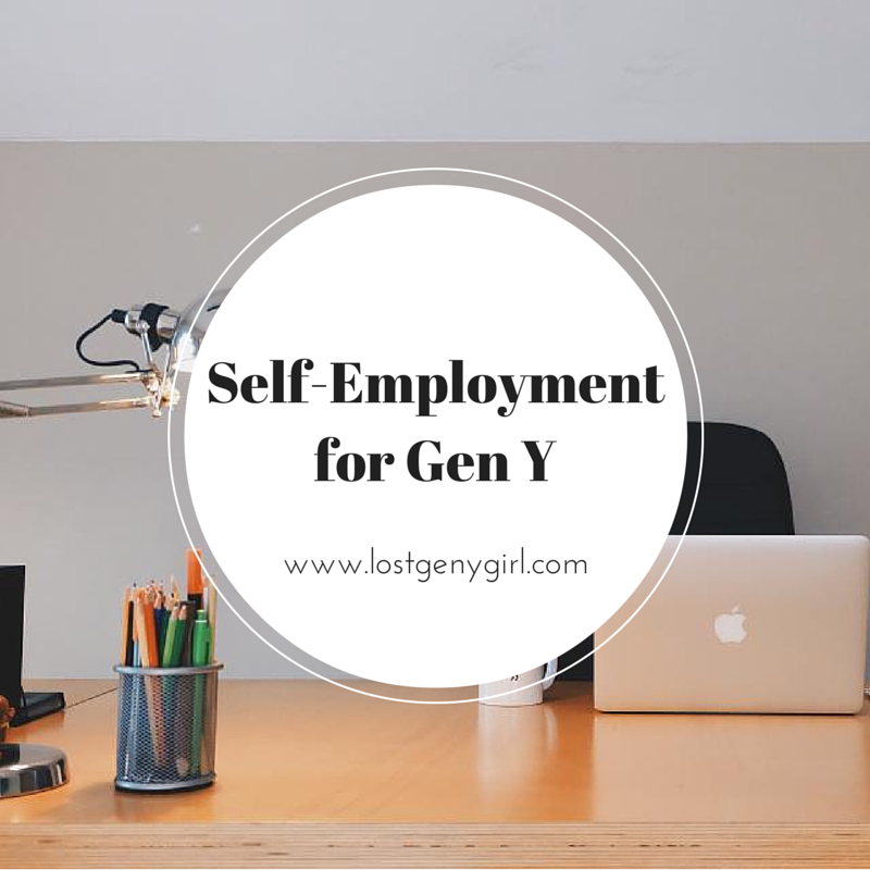 Self- Employment for Gen Y
