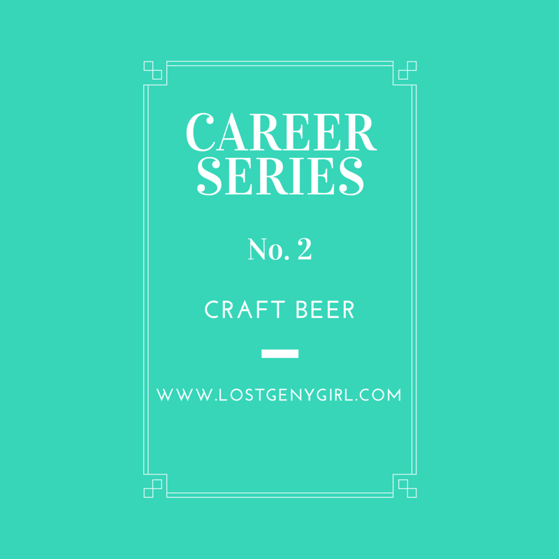 Career Series Craft Beer Industry