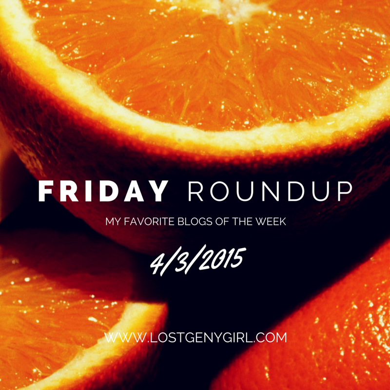 Friday Roundup 4/3/2015