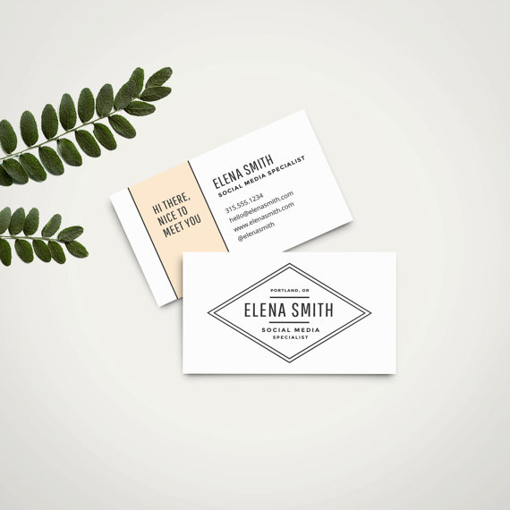 Business Cards Can Be Pretty