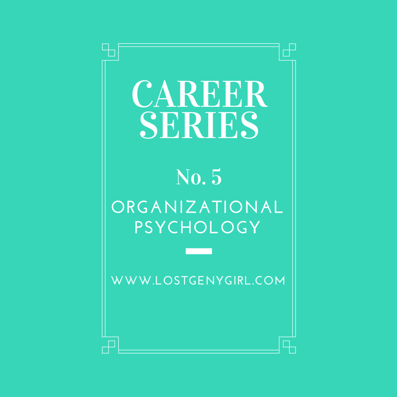 Organizational Psychology.