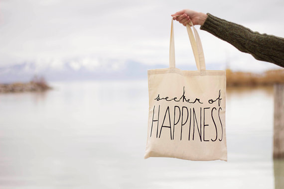 Seeker Of Happiness Tote