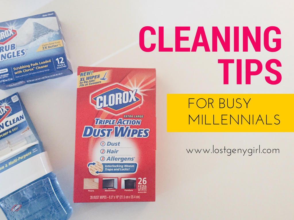 Cleaning Tips For Busy Millennials