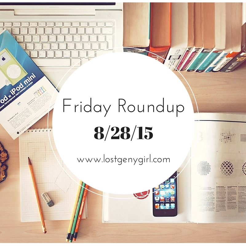 Friday Roundup Blog Posts