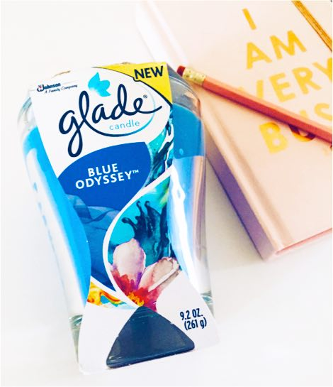 Reinvigorating Your Creative Passion with Glade® Blue Odyssey™ Large Candle