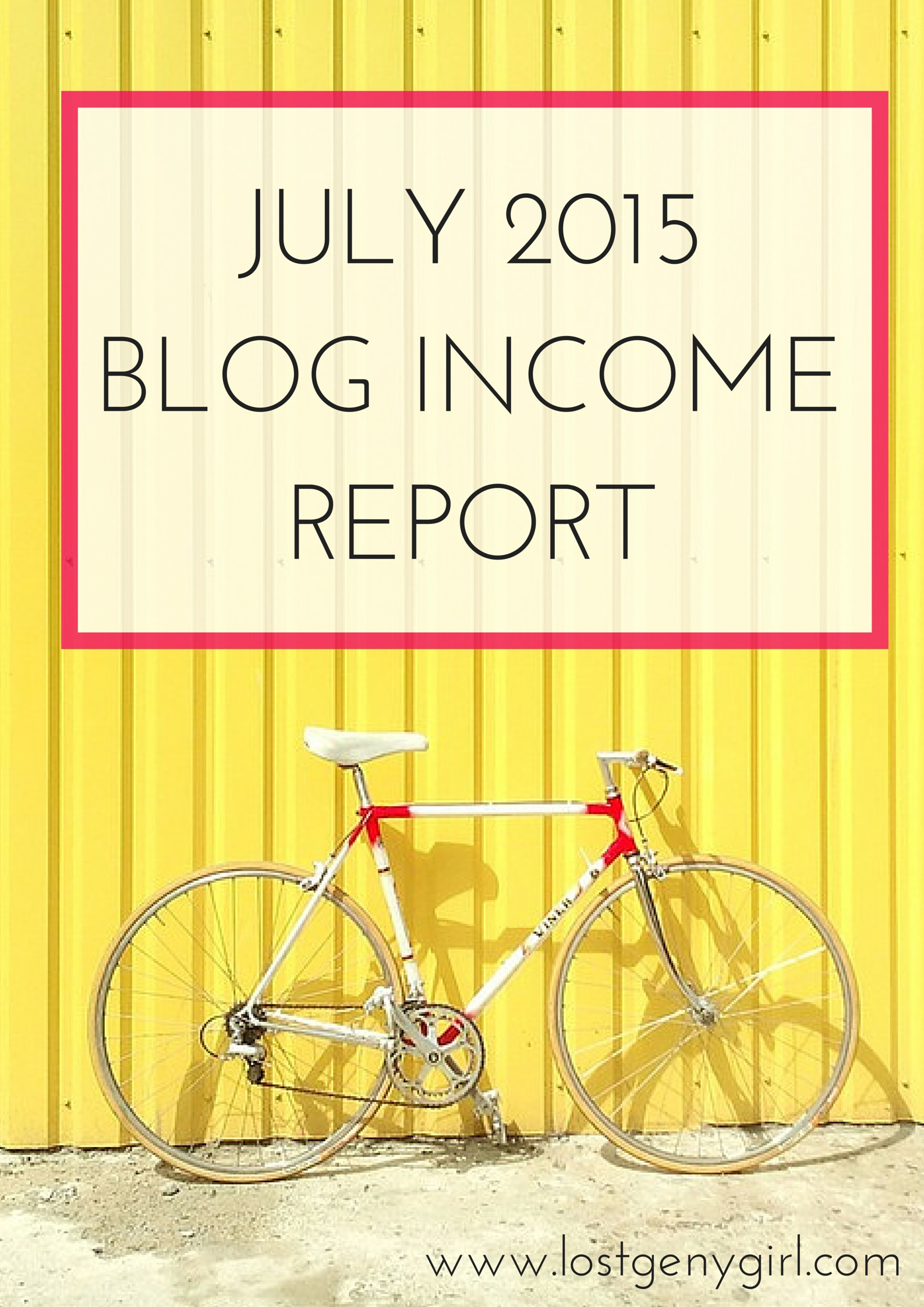 July Blog Income Report
