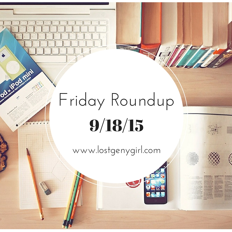 Friday Blog Post Roundup