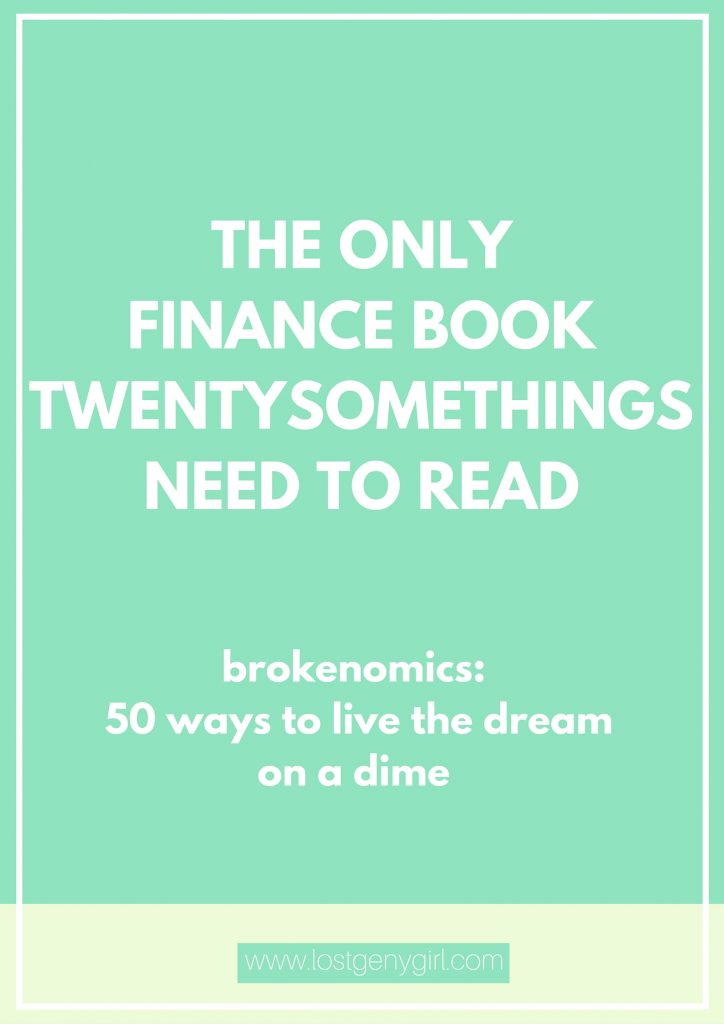finance book brokenomics