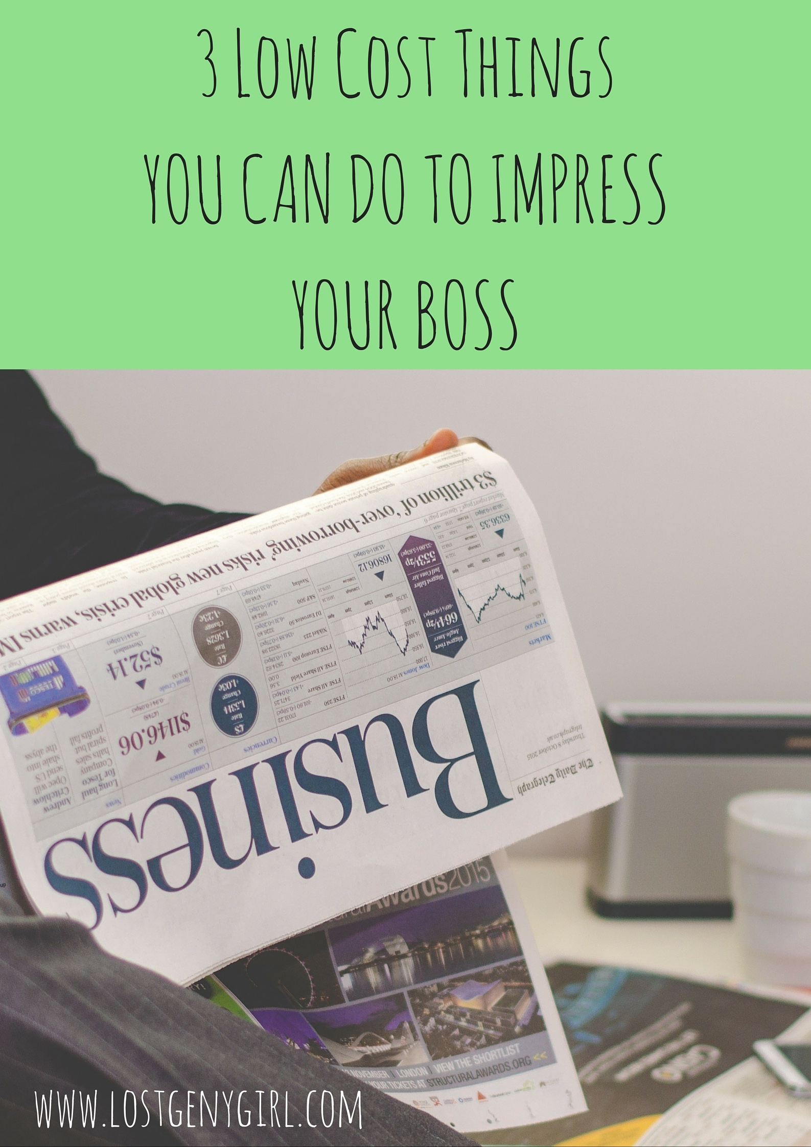 Things You Can Do To Impress Your Boss