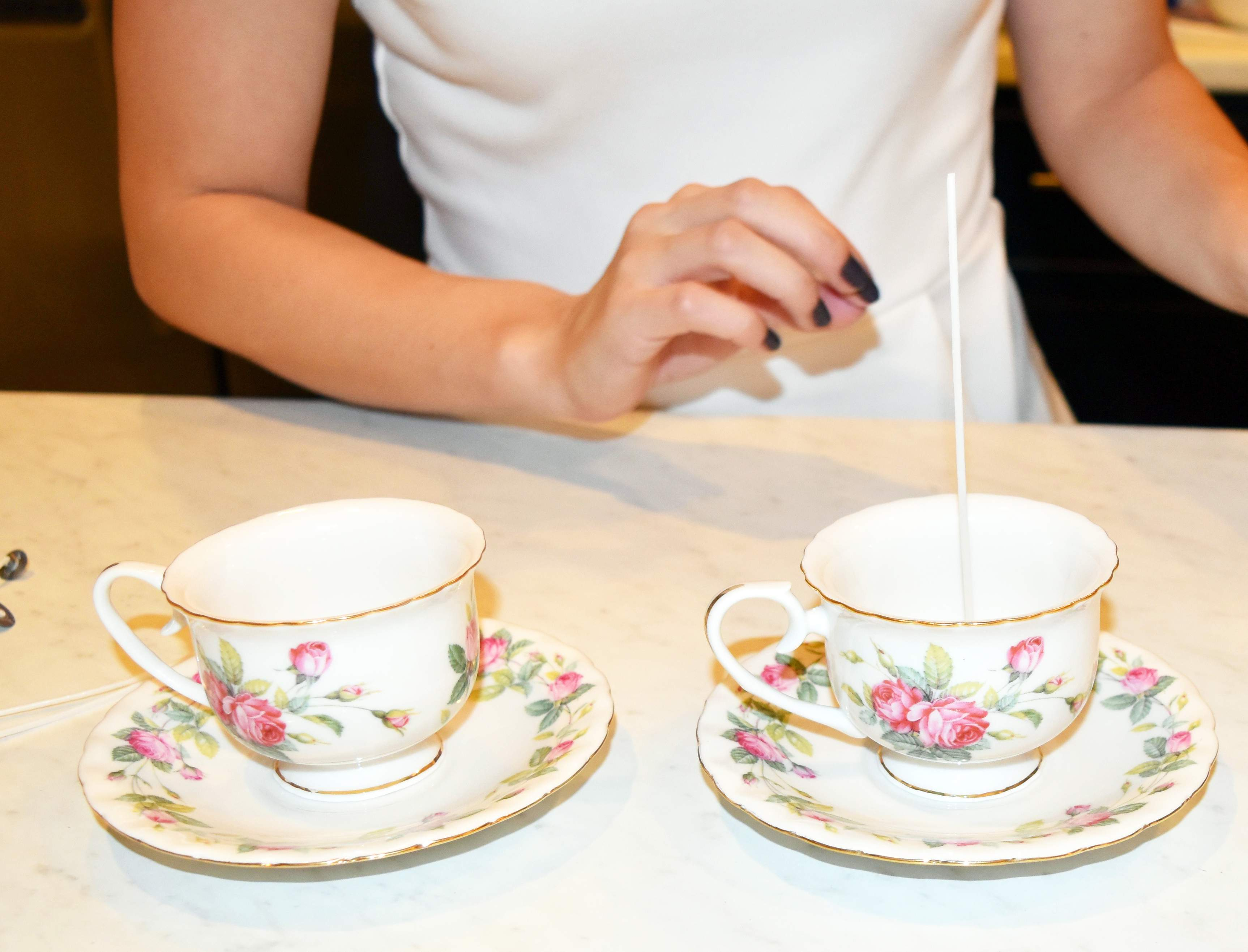 DIY Teacup Candles 14