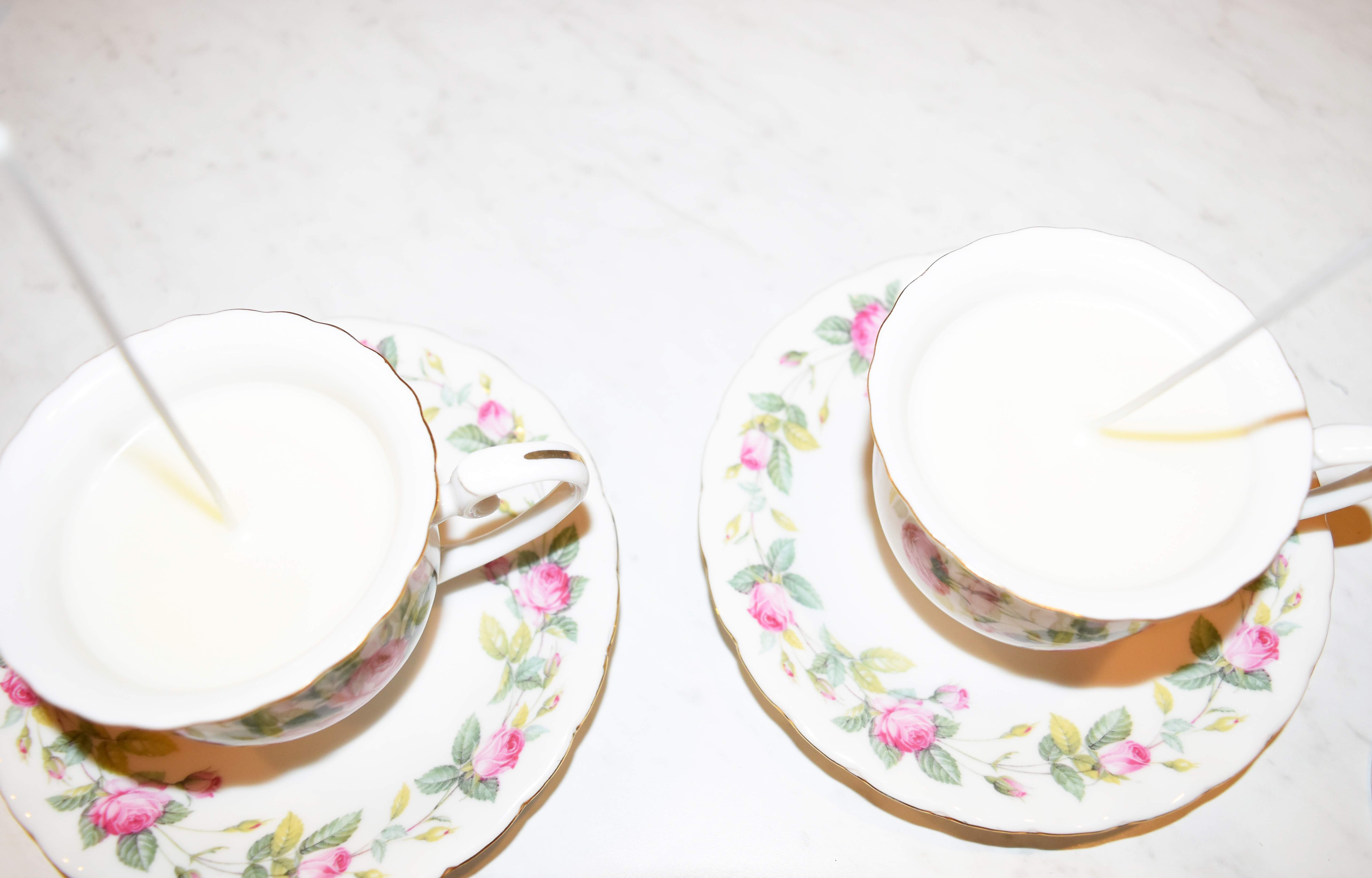 DIY Teacup Candles 16