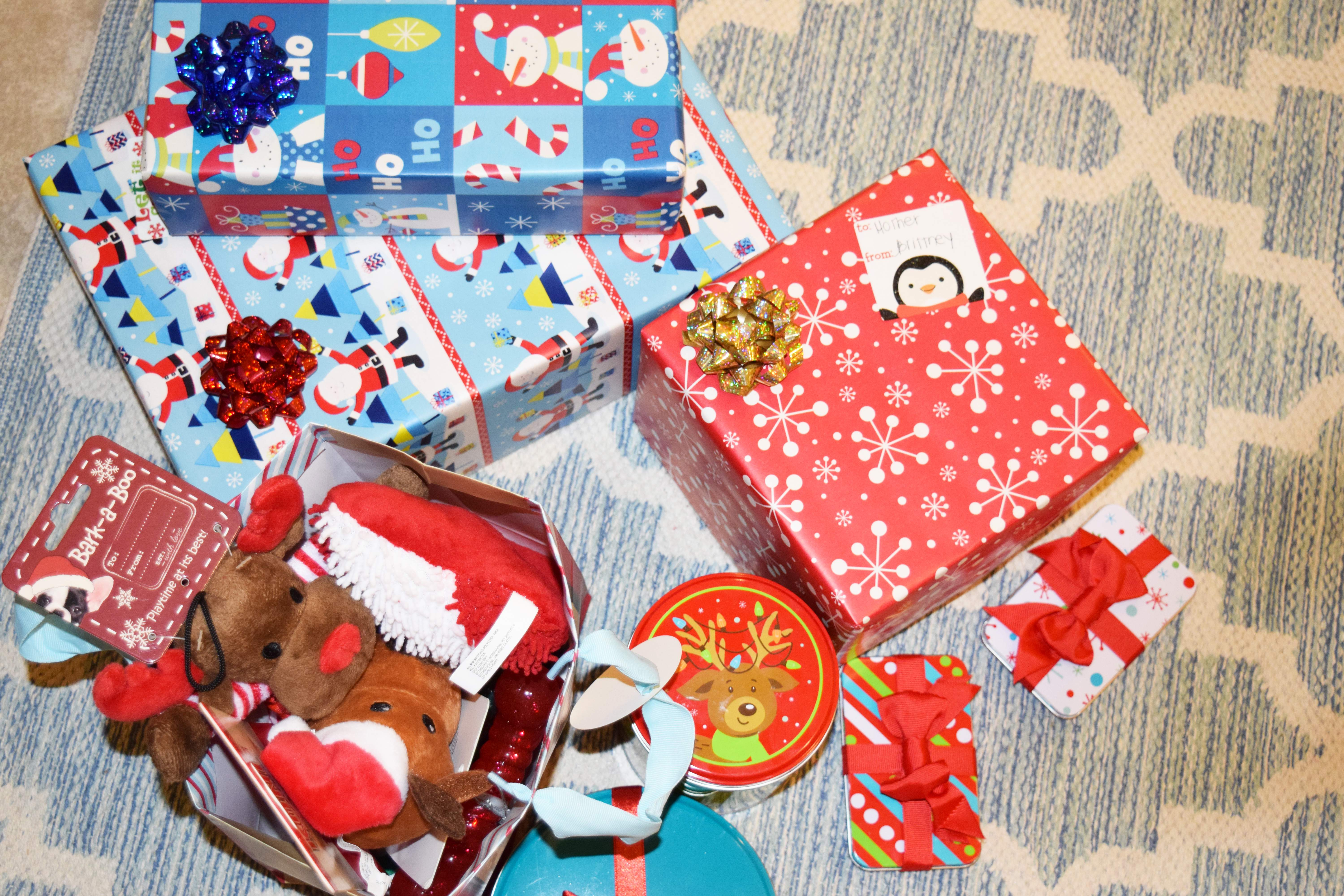 GIFTS WRAPPED