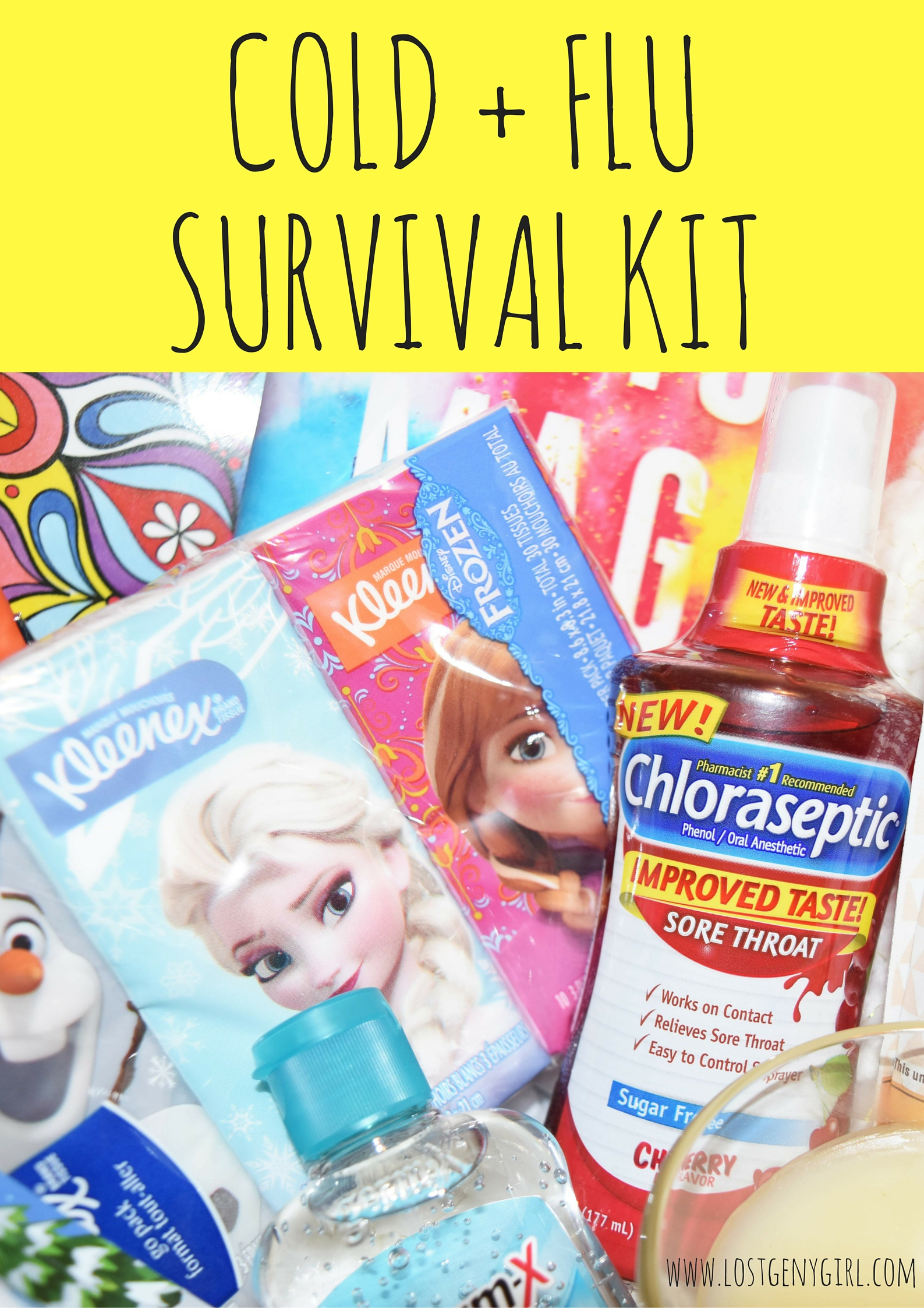 Cold And Flu Survival Kit