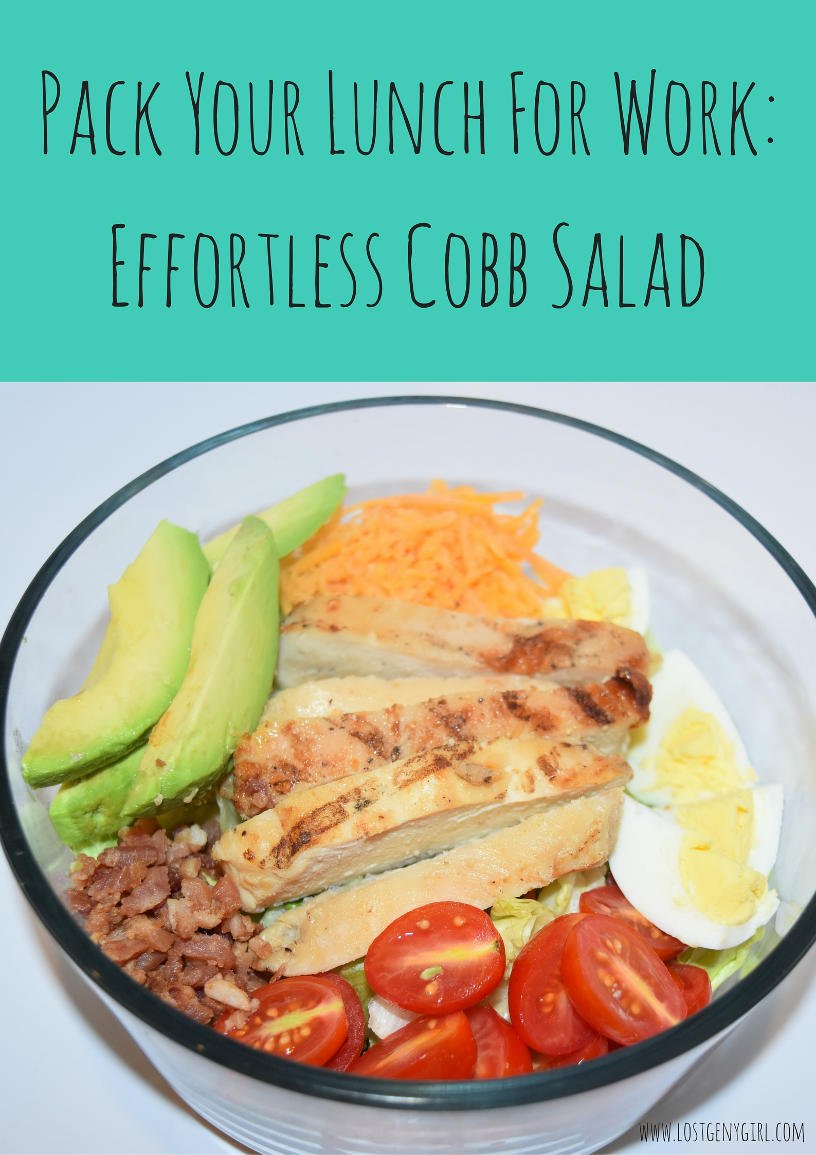 #ad Pack Your Lunch for Work: Effortless Cobb Salad