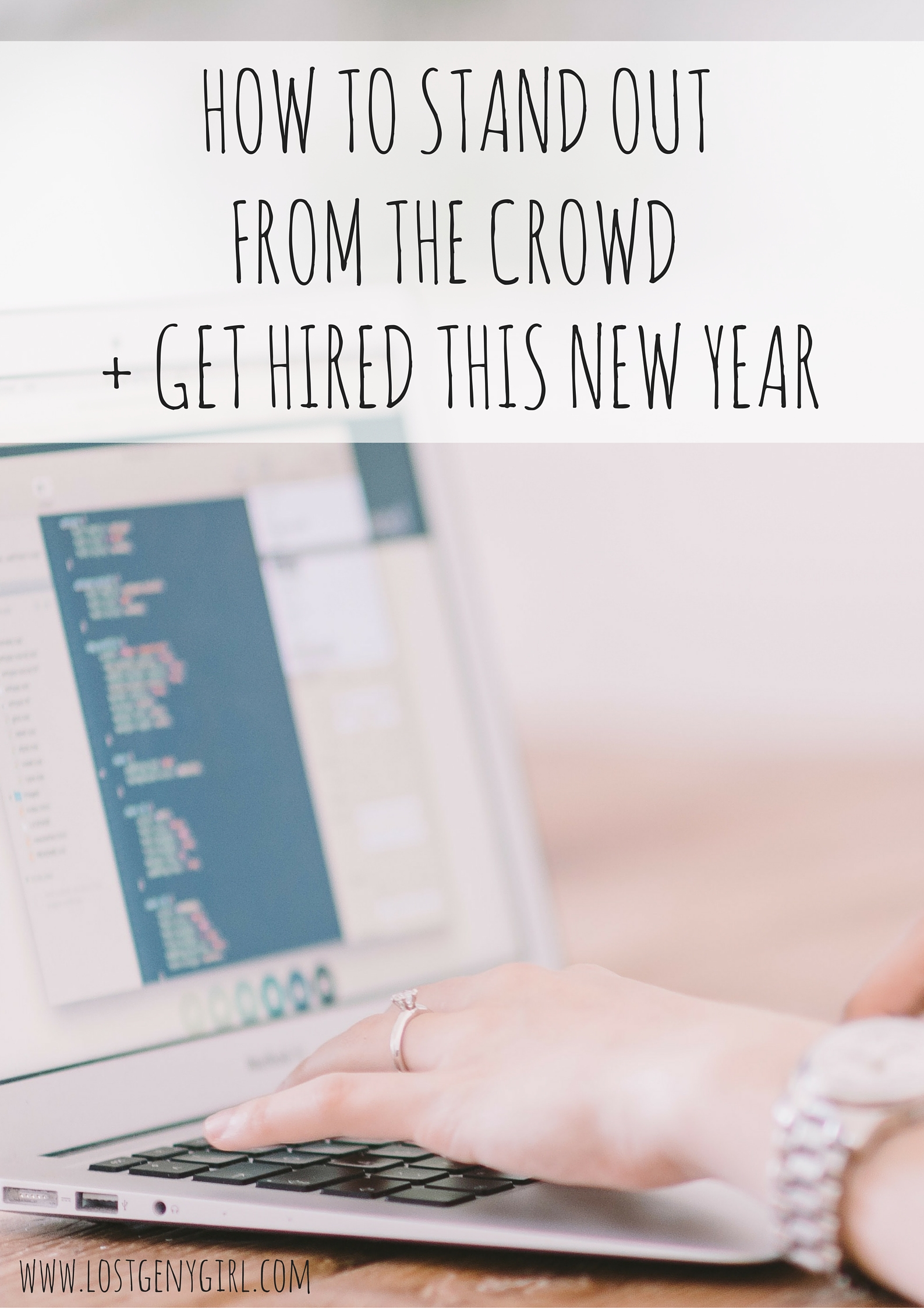 how to get hired this new year