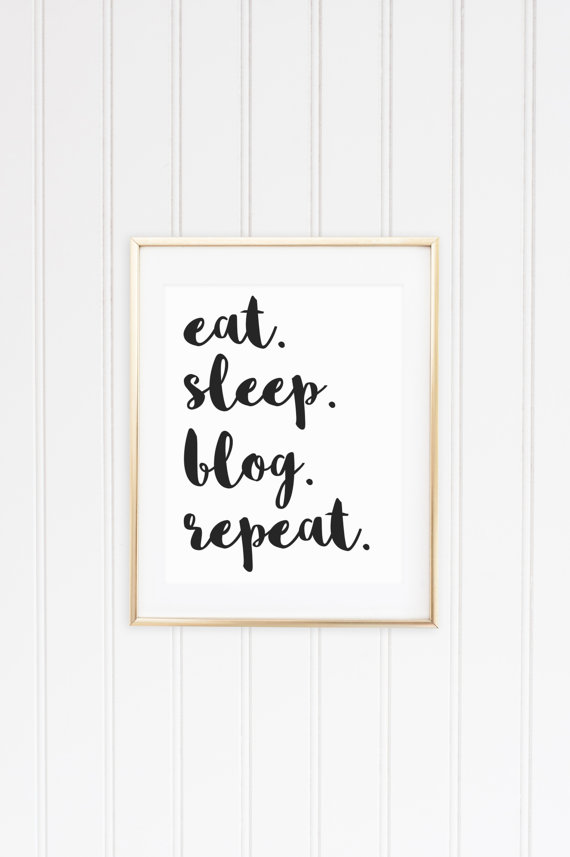 eat sleep blog repeat