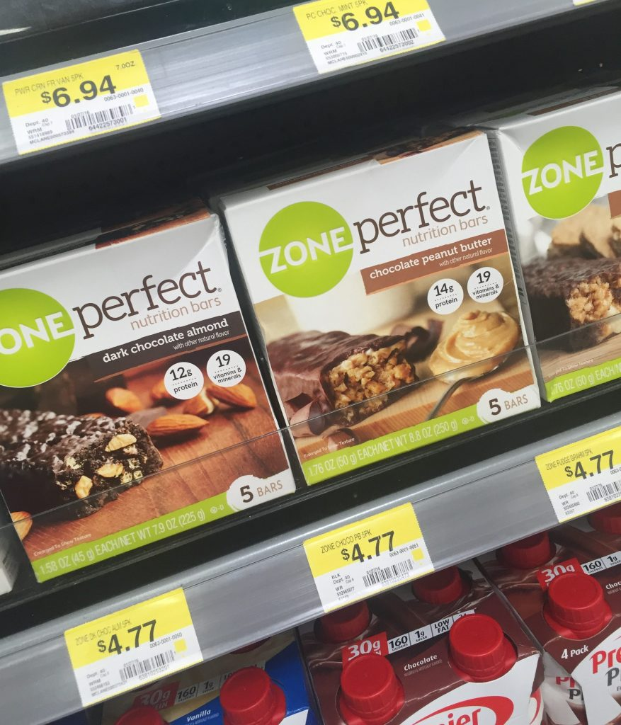 zone nutrition bars