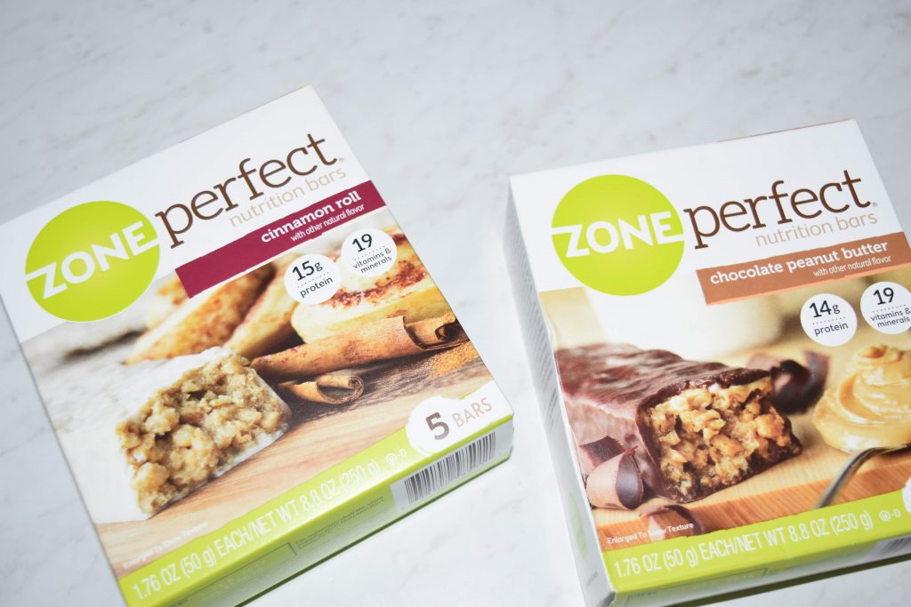 Zone Perfect Nutrition Bars 2