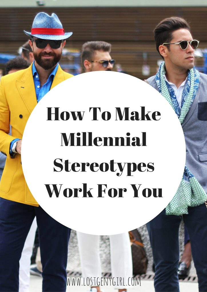 millennial stereotypes