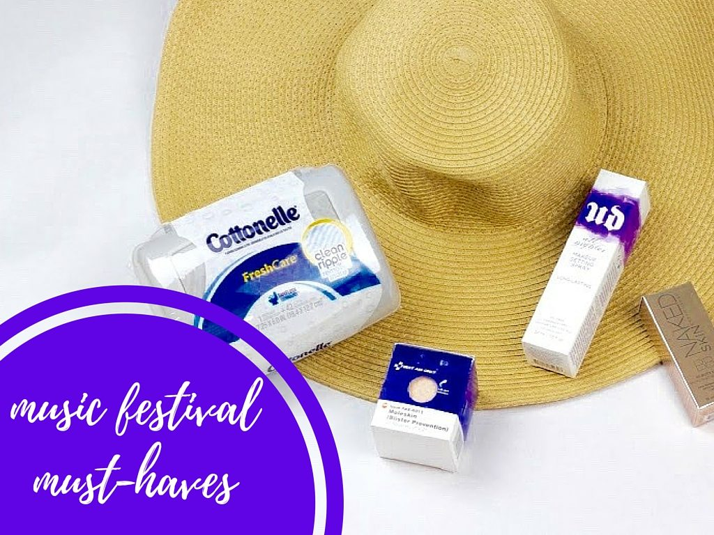 music festivalmust-haves