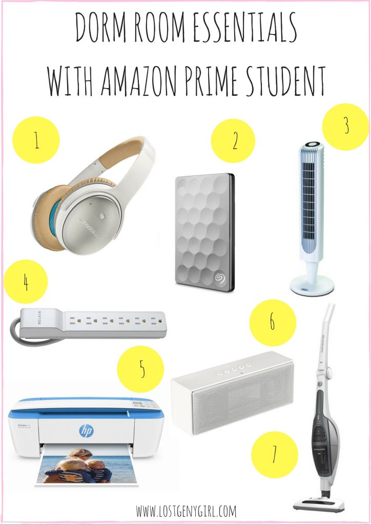 Dorm Room Essentials Gen Y Girl - Dorm room essentials