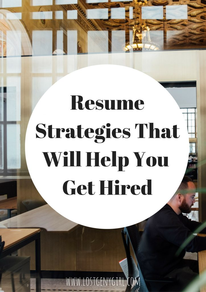 resume-strategies
