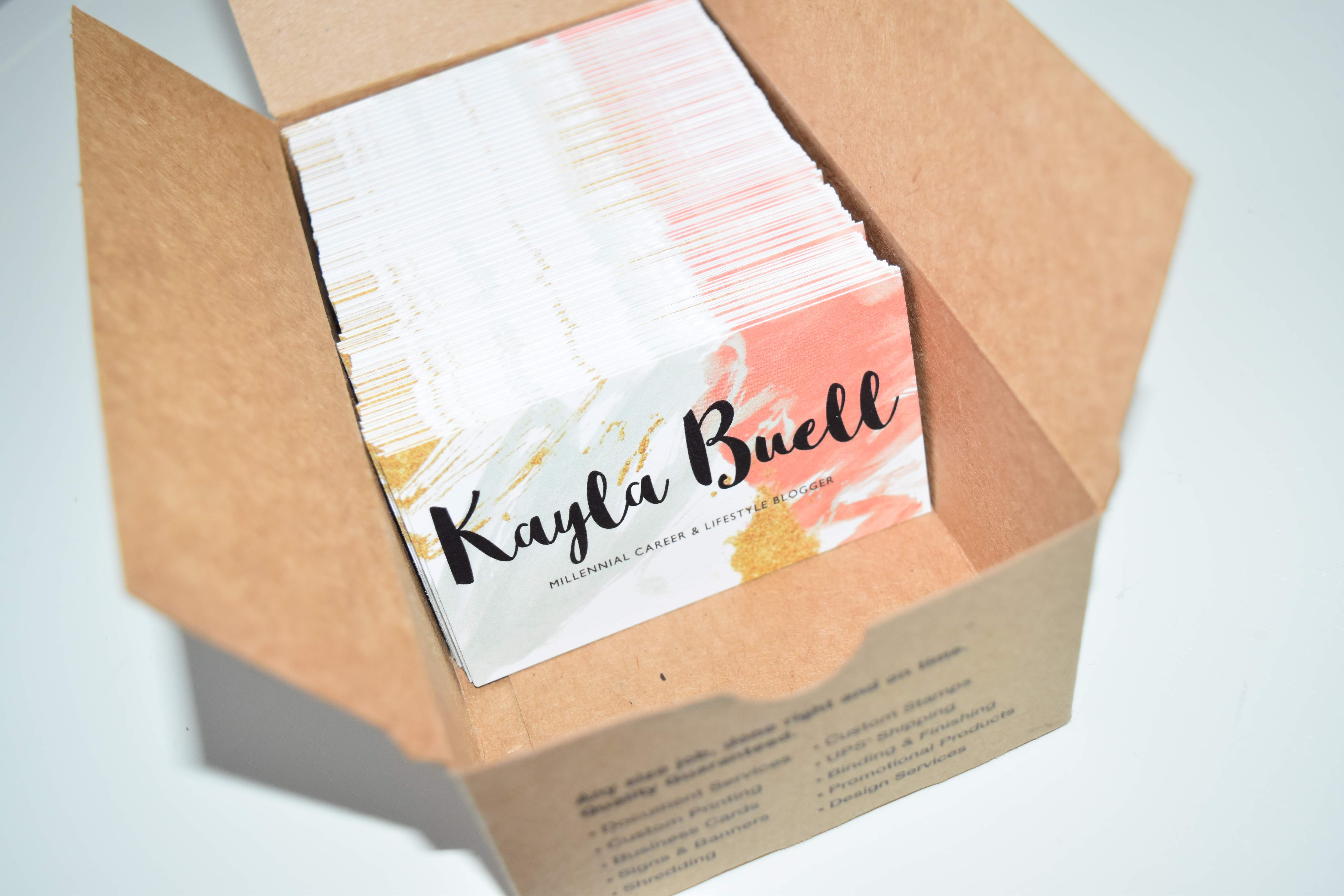 blogger business card - gen y girl