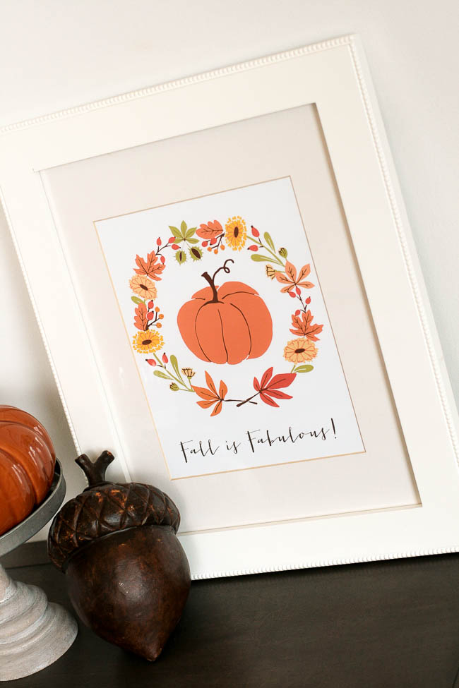 fall is fabulous printable
