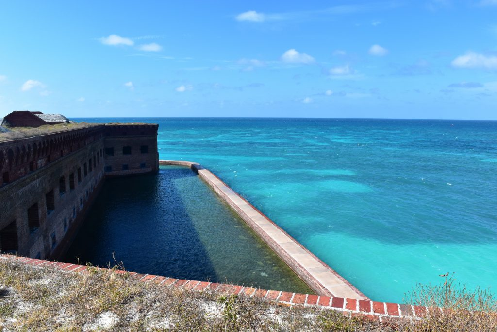 Historic Fort Jefferson at the Dry Tortugas.