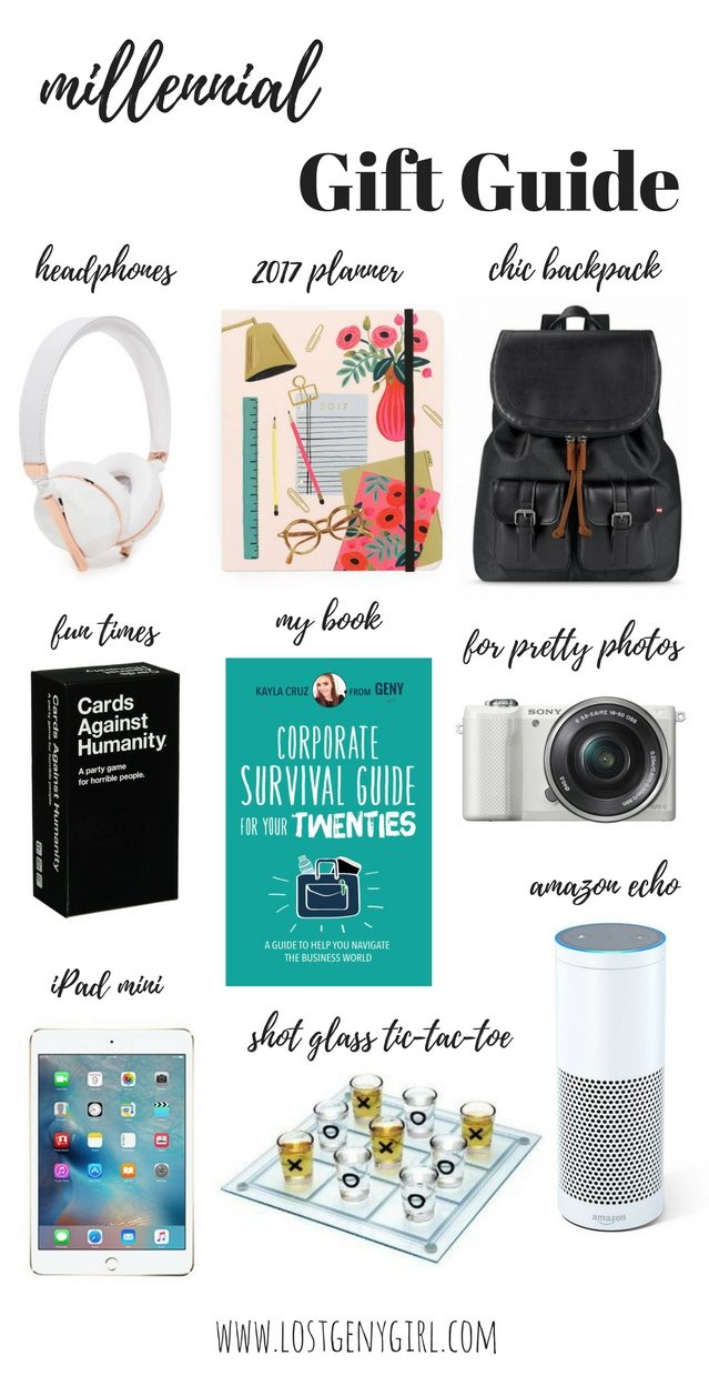 Millennial Gift Guide + A Super-Chic Giveaway