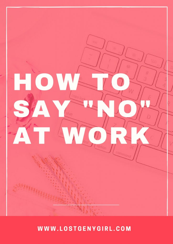 how-to-say-no