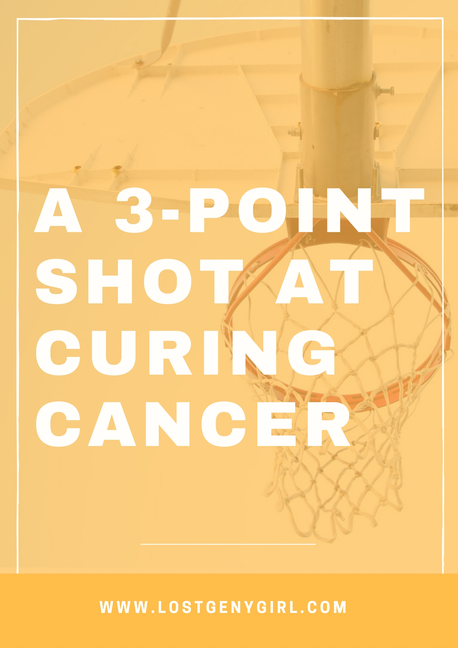 A 3-Point Shot At Curing Cancer