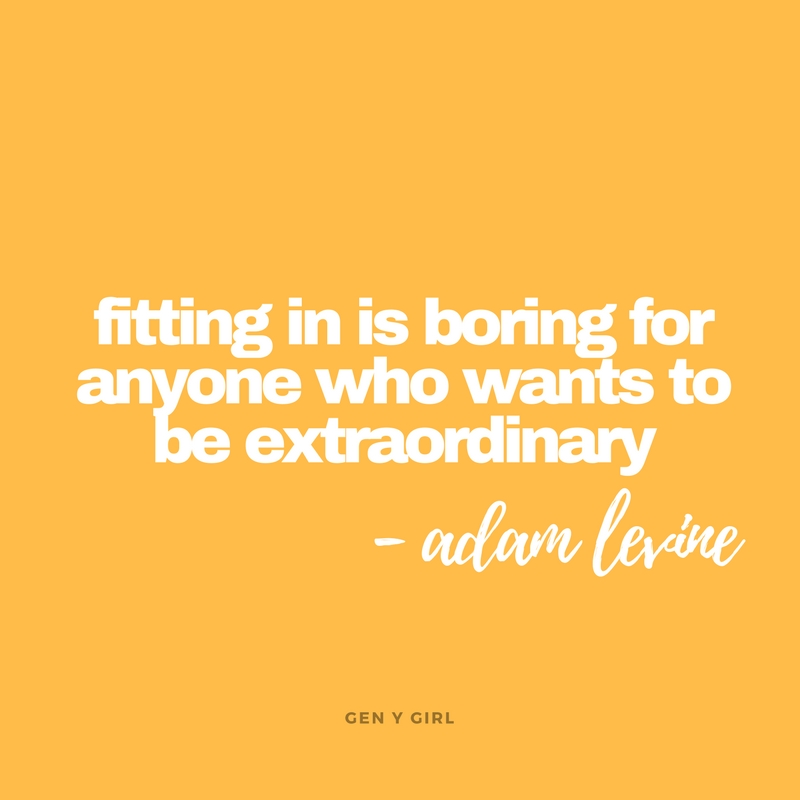 fitting-in-is-boring