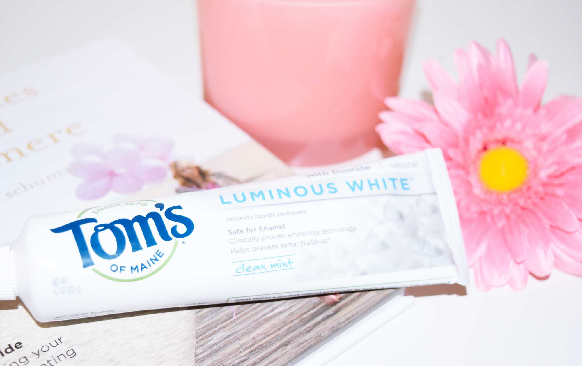 Keeping Your Teeth White During Pregnancy With Tom's of Maine