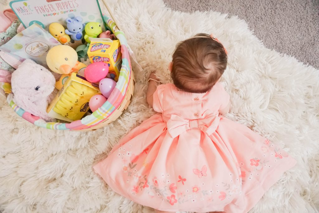 Babys first easter basket gen y girl also how fabulous is she going to look in these espadrilles so ridiculous lol negle Images