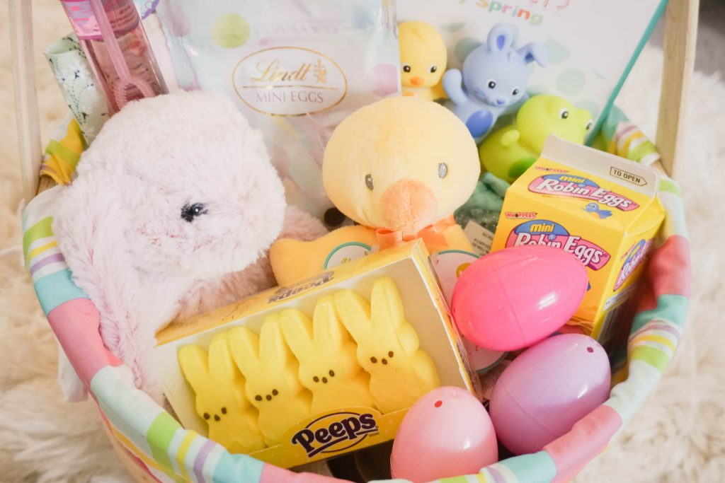 Babys first easter basket gen y girl anyway heres my latest video sharing all the stuff thats going in rileys first easter basket in case you guys have a newborn that youre shopping for negle Images