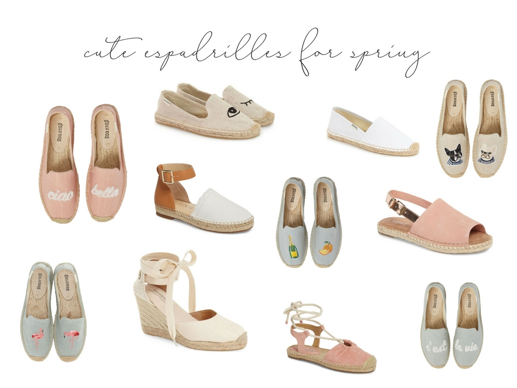 Cute Espadrilles For Spring