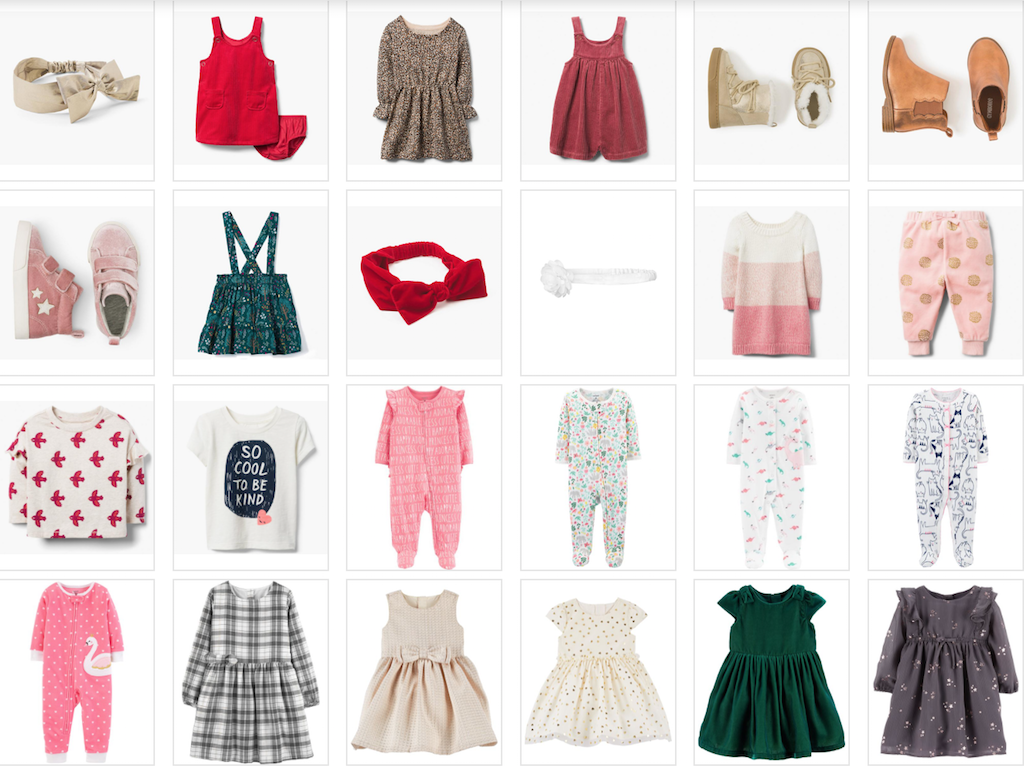 BLACK FRIDAY SALE FINDS – BABY GIRL CLOTHES