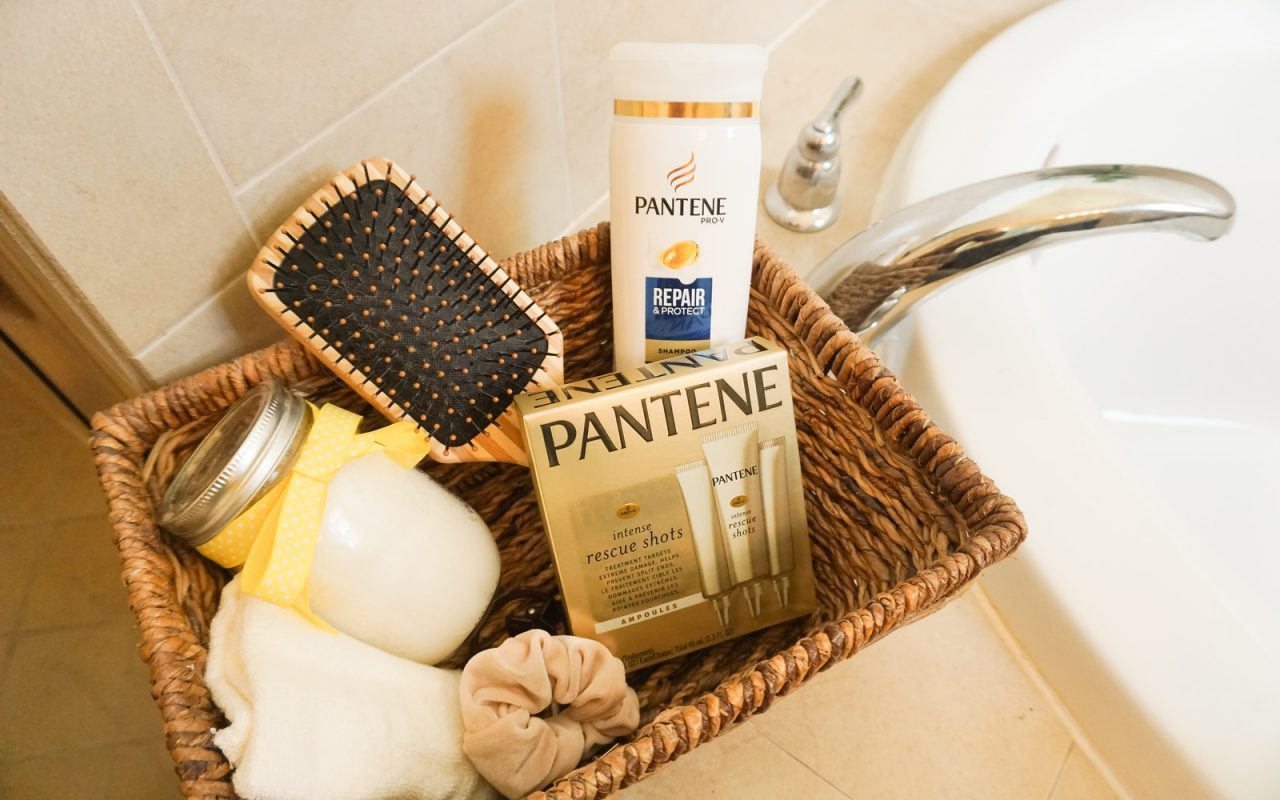 Healthy Haircare Routine with Pantene Pro-V Intense Rescue Shots